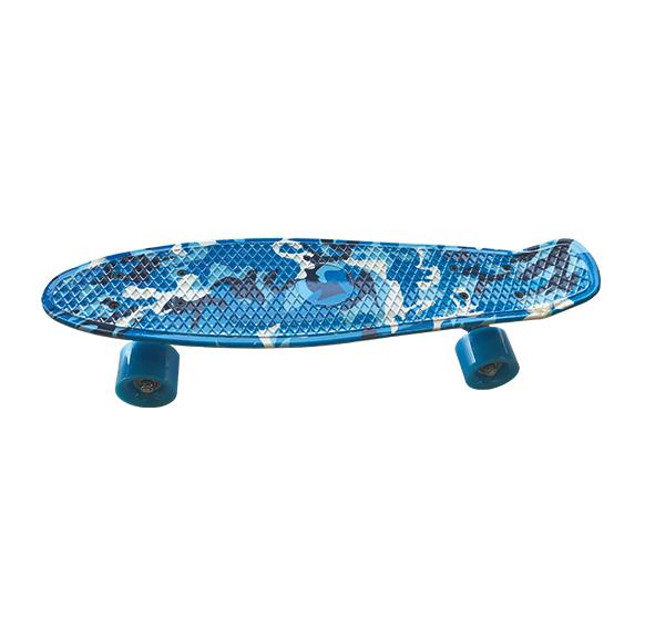 Skateboard Army Blue