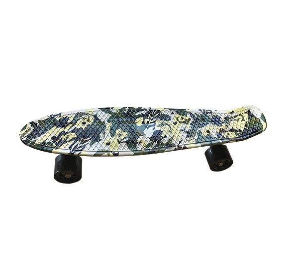 Skateboard Army Green