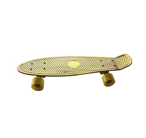 Skateboard Gold